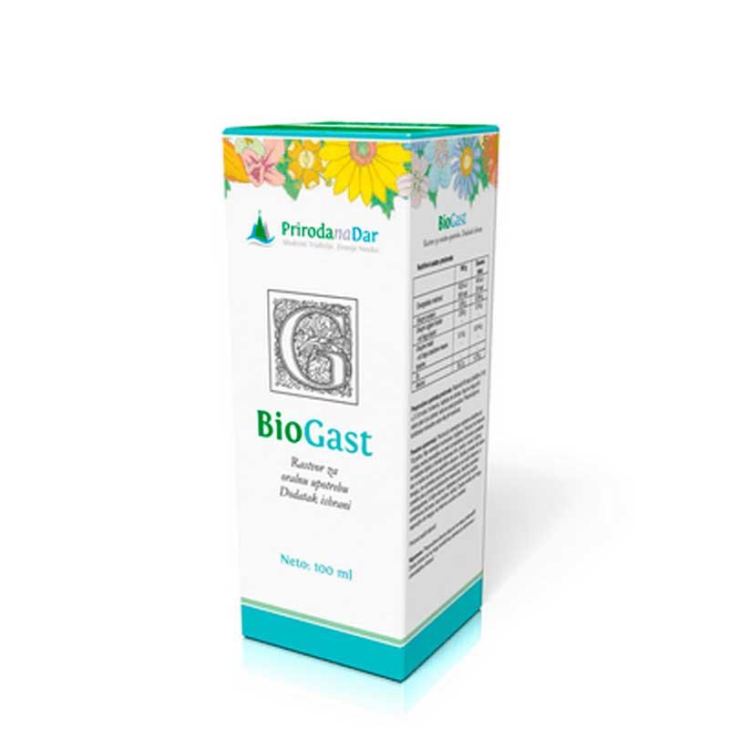 BioGAST kapi, PRIRODAnaDAR, 100ml