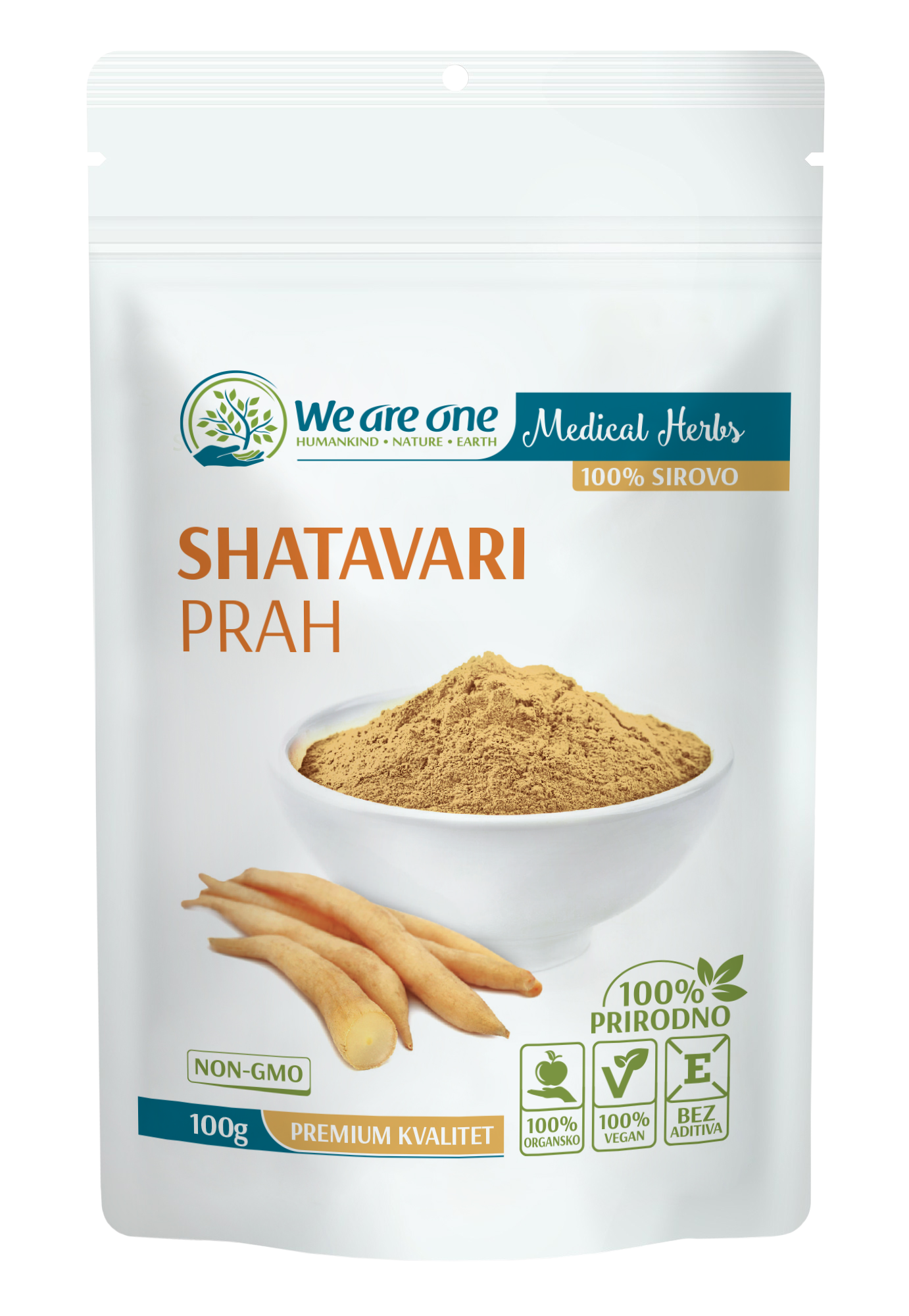 SHATAVARI PRAH, WE ARE ONE 100G