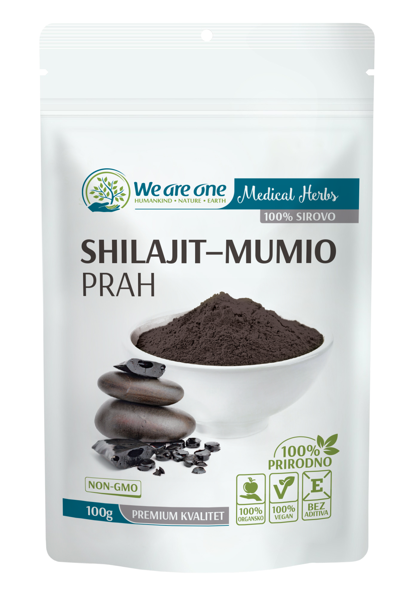SHILAJIT MUMIO PRAH, WE ARE ONE 100G
